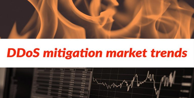 Global DDoS mitigation market trends and developments