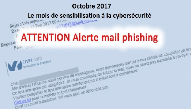 Attention au phishing ciblant les clients d'OVH