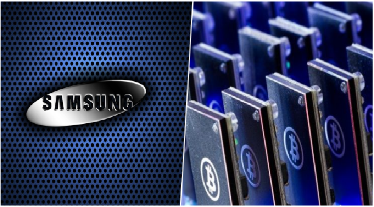 Samsung is working on producing cryptocurrency mining chips