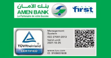 Cyber-sécurité : Amen Bank et Amen First Bank certifiées ISO/CEI 27001