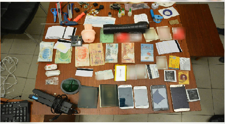 باب بحر – تونس/ إلقاء القبض على شخصين من أجل تدليس بطاقات بنكية