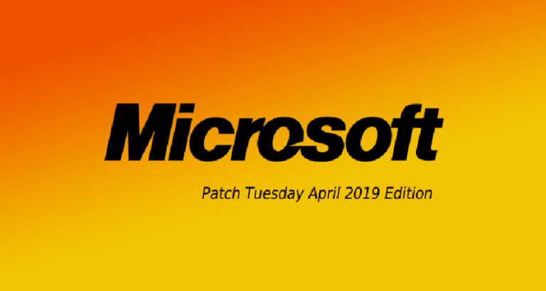 Microsoft Releases April 2019 Security Updates — Two Flaws Under Active Attack