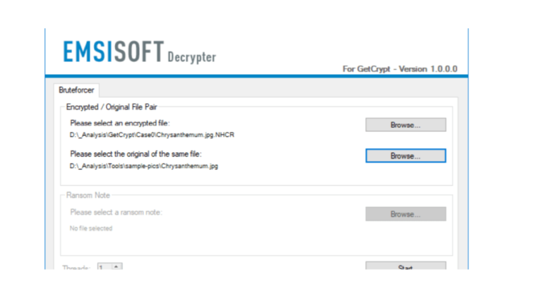 Emsisoft released a free Decrypter for the GetCrypt ransomware
